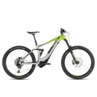 Cube Stereo Hybrid 160 Race 500 27.5 2019 | 22 Zoll | grey´n´green preview image