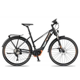 KTM MACINA SPORT 10 CX5 PT Trapez 2019 | 46 cm | black matt/white orange preview image