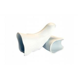 Hüdz Brems-/Schalthebel Griffgummis weiss, für Shimano Ultegra 6700 Medium preview image