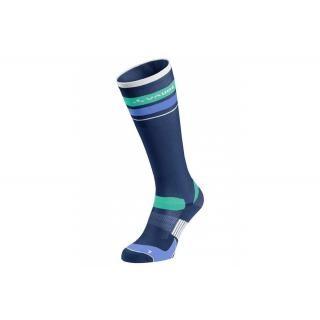 VAUDE Bike Socks Long sailor blue/white Größe 39-41 preview image