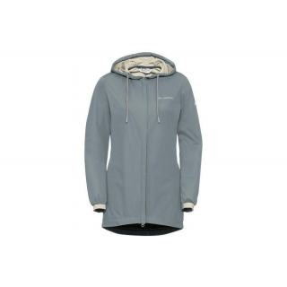 VAUDE Womens Cyclist Softshell Jacket pewter grey Größe 46 preview image