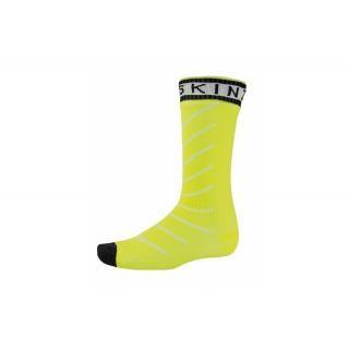 SealSkin - Socken SealSkinz S.Thin Pro Mid Hydrost. Gr. L (43-46) gelb/schwarz wasserdicht preview image