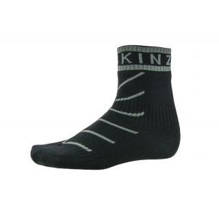 SealSkin - Socken SealSkinz Thin Pro Ankle Hydrost. Gr. L (43-46) schwarz/grau wasserdicht preview image