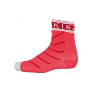 SealSkin - Socken SealSkinz Thin Pro Ankle Hydrost. Gr. L (43-46) rot/weiß wasserdicht preview image