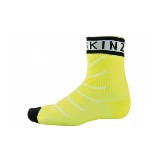 SealSkin - Socken SealSkinz Thin Pro Ankle Hydrost. Gr. L (43-46) gelb/schwarz wasserdicht preview image