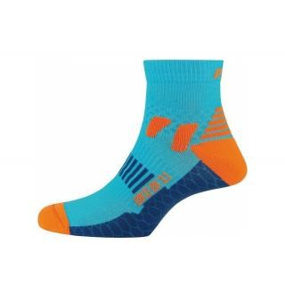 P.A.C - Socken P.A.C. Bike Cool BK 3.1 women neon blau Gr.38-41 preview image