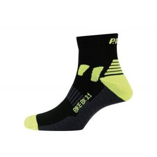 P.A.C - Socken P.A.C. Bike Cool BK 3.1 women schwarz Gr.35-37 preview image