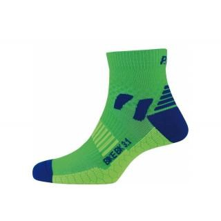 P.A.C - Socken P.A.C. Bike Cool BK 3.1 women neon grün Gr.38-41 preview image