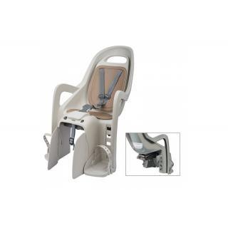 POLISPORT - Kindersitz Polisport Groovy Maxi CFS creme/braun, Befestigung Gepäckträger preview image