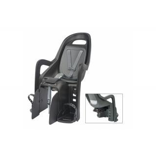 POLISPORT - Kindersitz Polisport Groovy Maxi CFS schwarz/grau, Befestigung Gepäckträger preview image