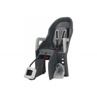 POLISPORT - Kindersitz Polisport Guppy Maxi RS+ dunkelgrau/silber, Befestig. Rahmenrohr preview image