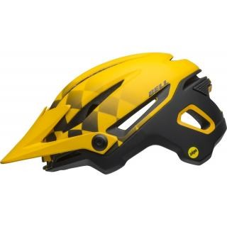 Bell Sixer MIPS finish line matte yellow/black M preview image