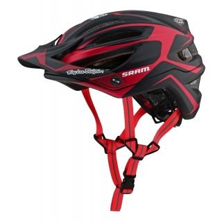 Troy Lee Designs A2 Helmet (MIPS) Dropout Sram Red XL/XXL preview image