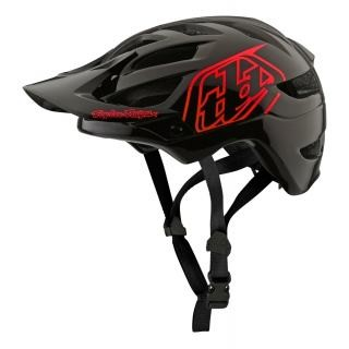 Troy Lee Designs A1 Helmet Drone Black/Red XL/XXL preview image
