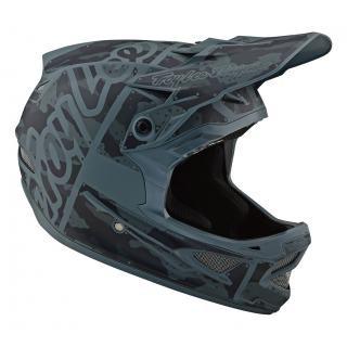 Troy Lee Designs D3 Helmet (FL) Factory Camo Green XL preview image