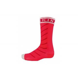 SealSkin - Socken SealSkinz S.Thin Pro Mid Hydrost. Gr. L (43-46) rot/weiß wasserdicht preview image