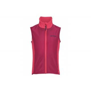 VAUDE Kids Racoon Fleece Vest bright pink Größe 104 preview image