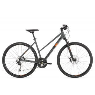 Cube Cross EXC Trapez 2019 | 50 cm | grey´n´orange preview image