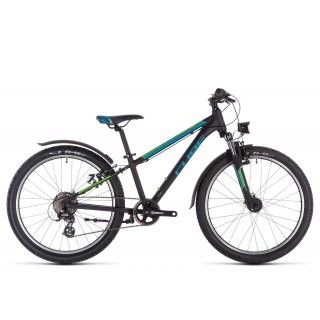 Cube Acid 240 Allroad 2020 | black´n´blue´n´green | 24 Zoll preview image