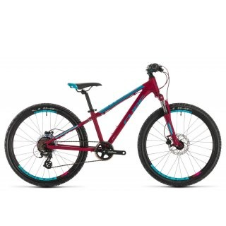 Cube Access 240 Disc girl 2020 | berry´n´aqua´n´pink | 24 Zoll preview image