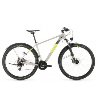 Cube Aim Allroad 2020 | 18 Zoll | silver´n´flashyellow | 27.5 Zoll preview image
