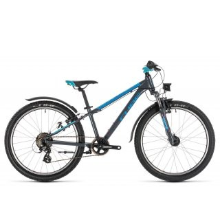 Cube Access 240 Allroad 2020 | 24 Zoll | grey´n´blue´n´pink preview image