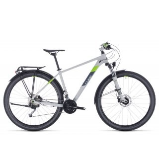 Cube Aim SL Allroad 2020 | 18 Zoll | lightgrey´n´green | 27.5 Zoll preview image