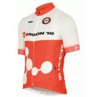 Trikot Argon 18 Team kurzarm weiß/rot preview image
