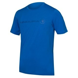 Endura SingleTrack Merino T-shirt Azurblau S preview image