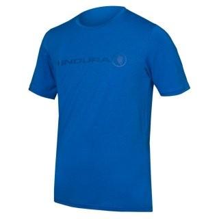 Endura SingleTrack Merino T-shirt Azurblau L preview image