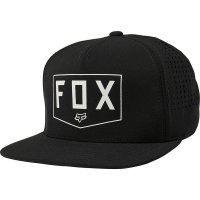 Fox Shielded Snapback Hat black OS preview image