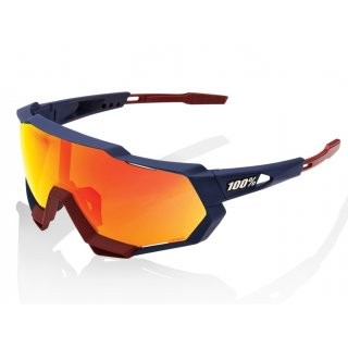 100% Speedtrap HD Red Multilayer Mirror Lens / Hiper Lens Soft Tact Flume preview image