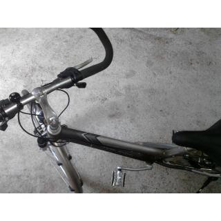 Gut erhaltenes, silbernes Winora Domingo Deluxe Damenrad preview image