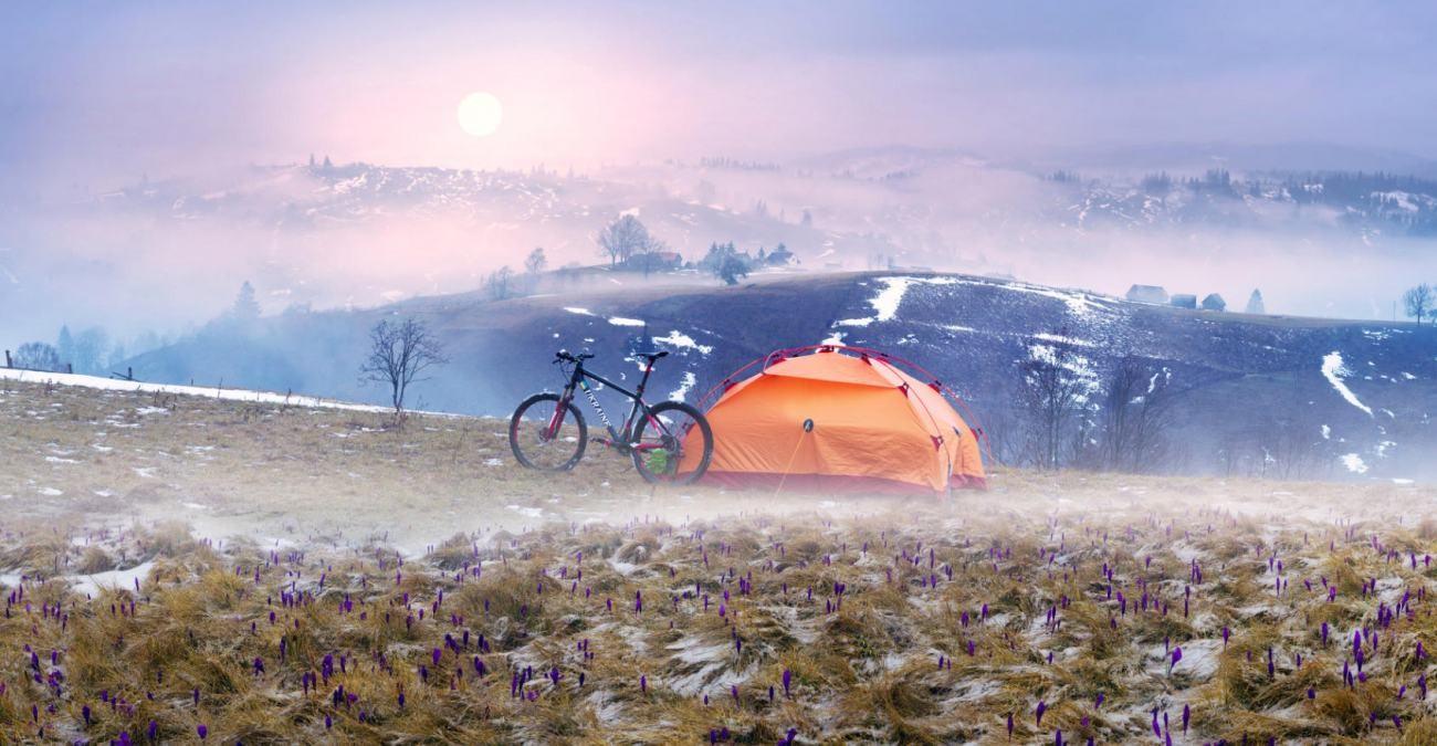 Mit dem Fahrrad sicher durchs Winter Wonderland