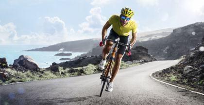 Mit dem Powermeter kann die Leistung beim Fahrradfahren optimal gemessen werden.