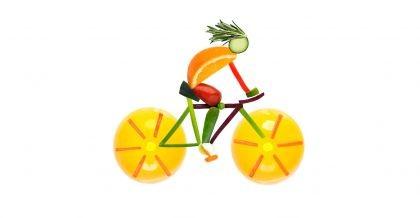 Schlank durch Radfahren