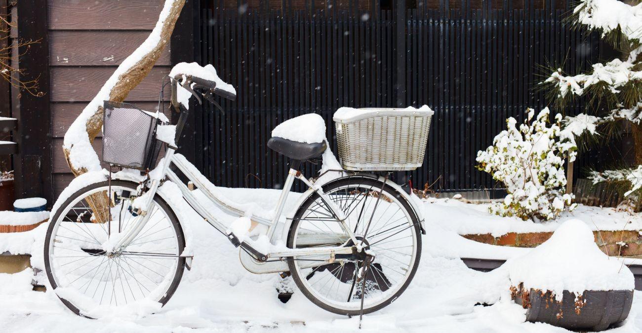Sicher im Schneechaos! Risikoradeln im Winter